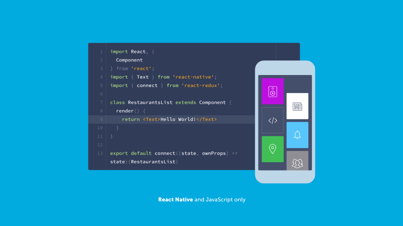 Create truly native and cross-platform mobile apps with Shoutem