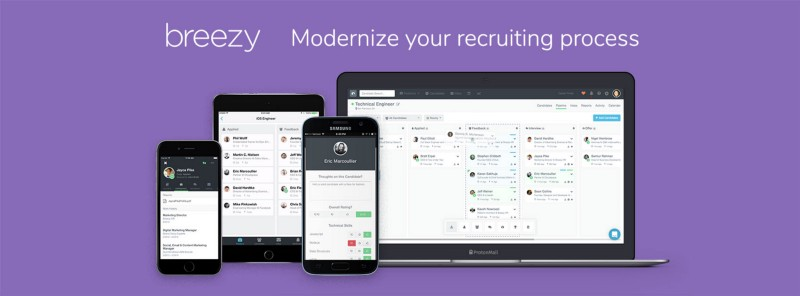 modernize your recruiting process with breezy
